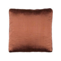 cappuccino silk pillow