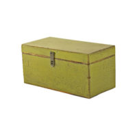 painted green box