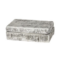 white ceramic greek box