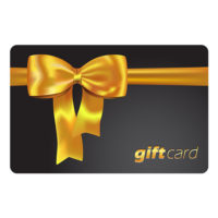 gift card black gold