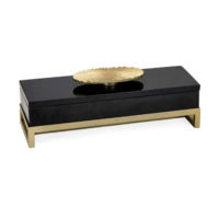 Black and Gold Marble Box